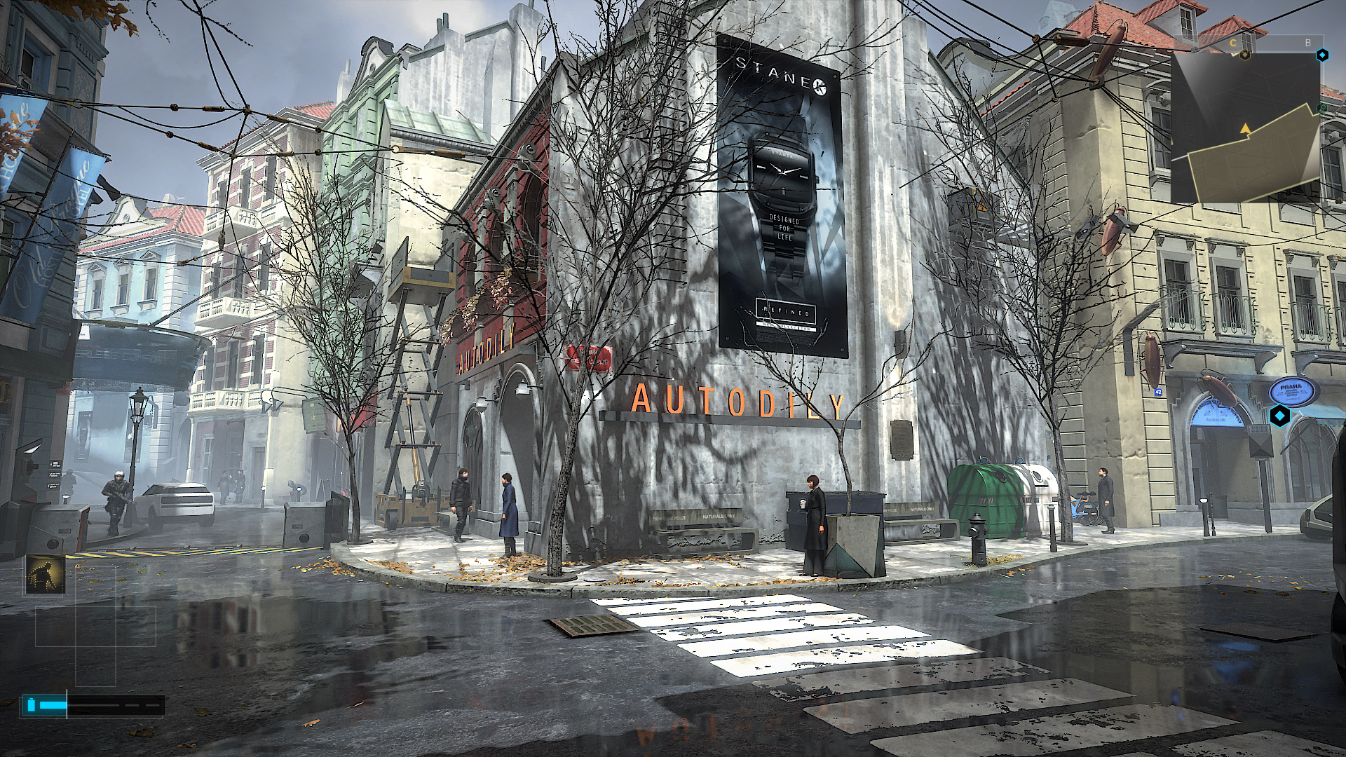 Обои корво, дождь, Dishonored, тучи, мрак. Игры foto 16