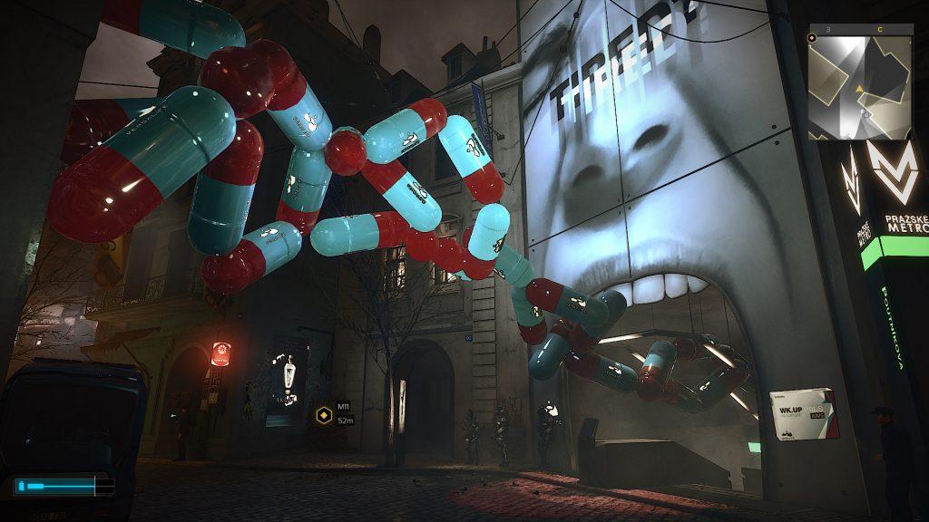 скриншот из игры Deus ex mankind divided