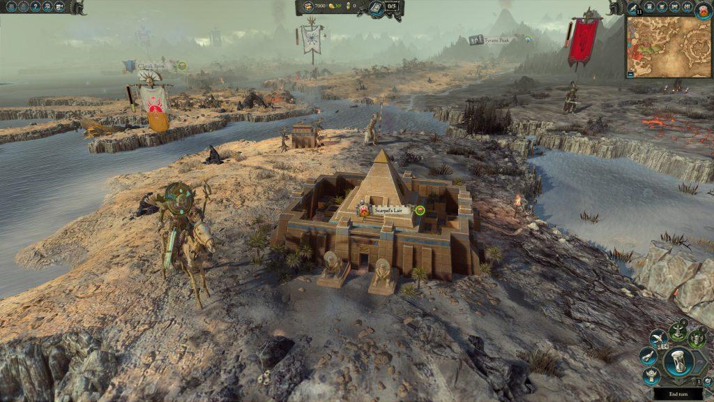 скриншот из игры Total War Warhammer 2