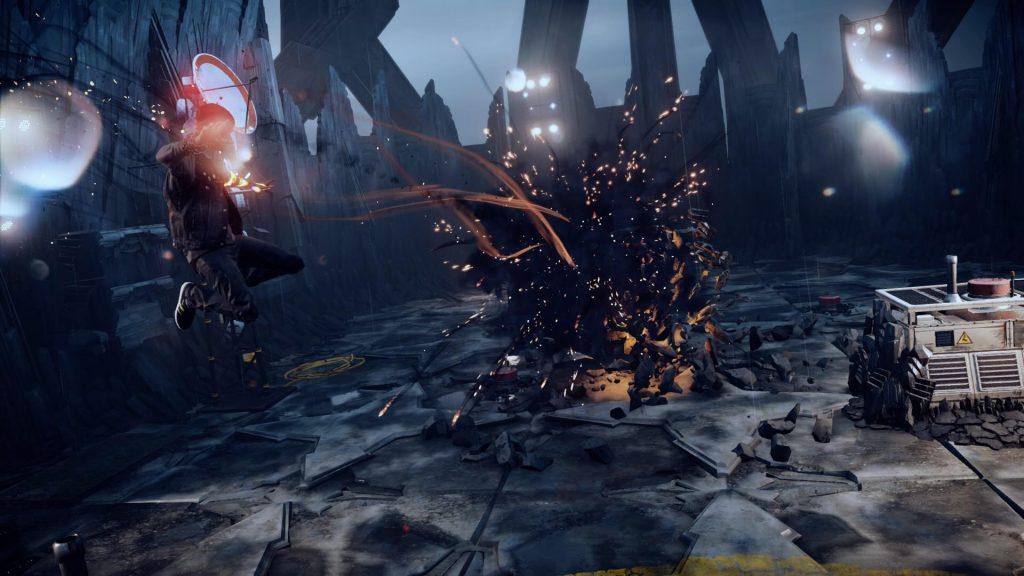 скриншот из игры infamous second son