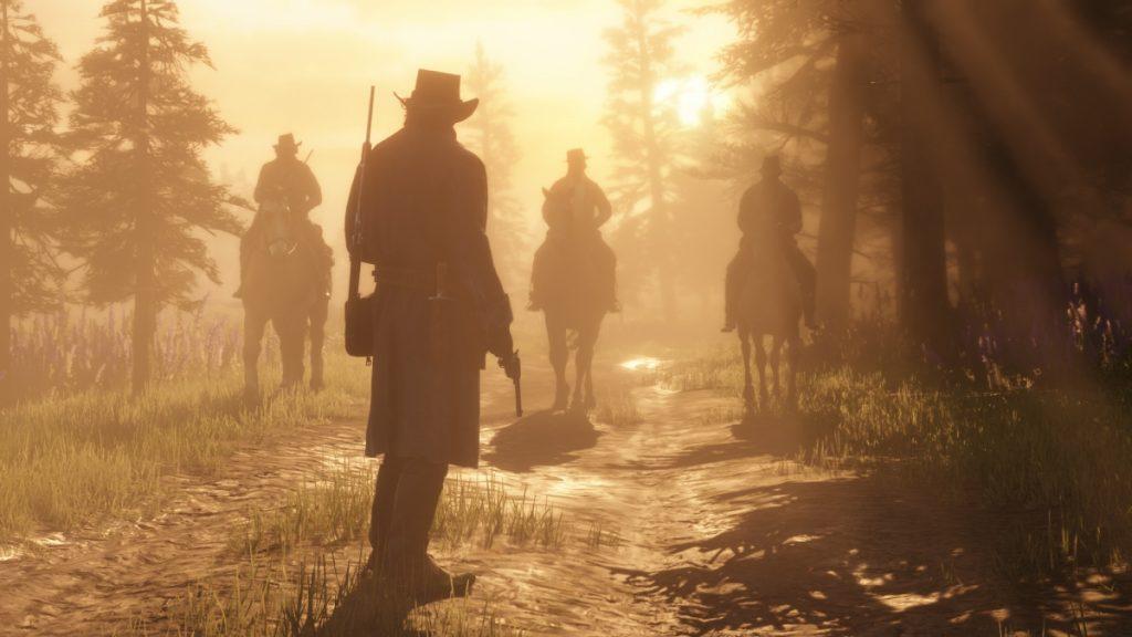 скриншот из игры red dead redemption 2