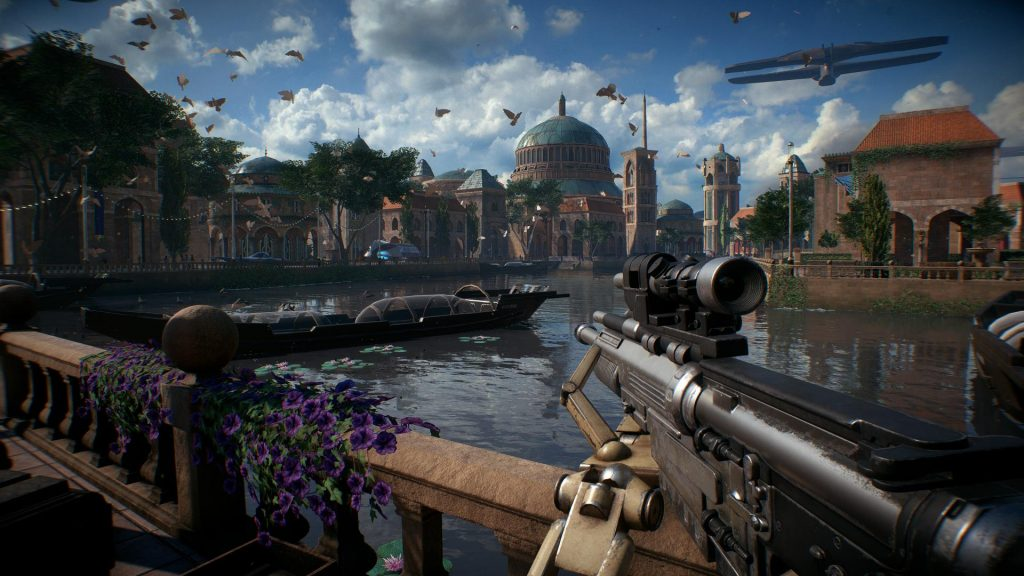 скриншот из игры Battlefront 2