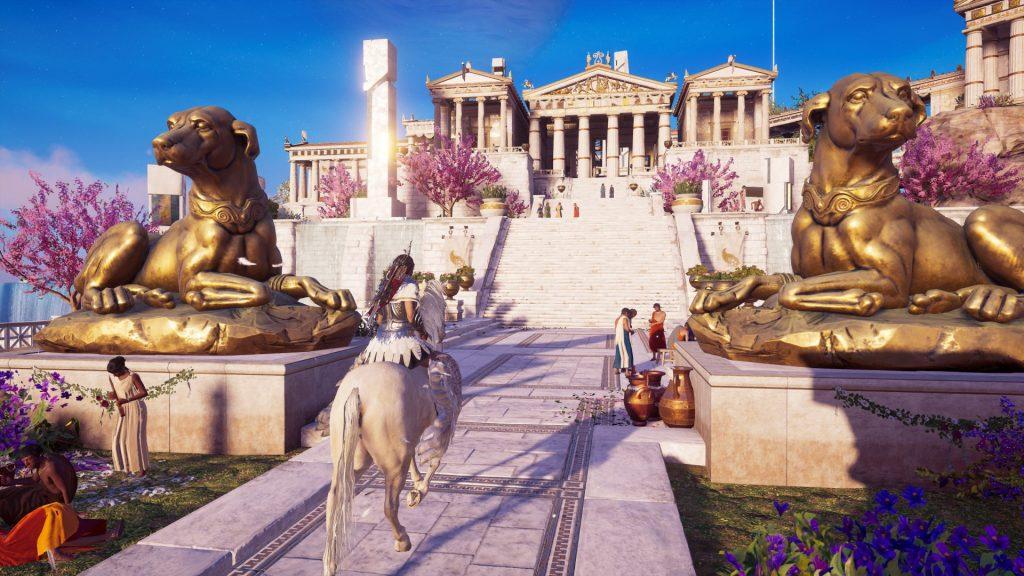 assasins creed odyssey скриншот из игры