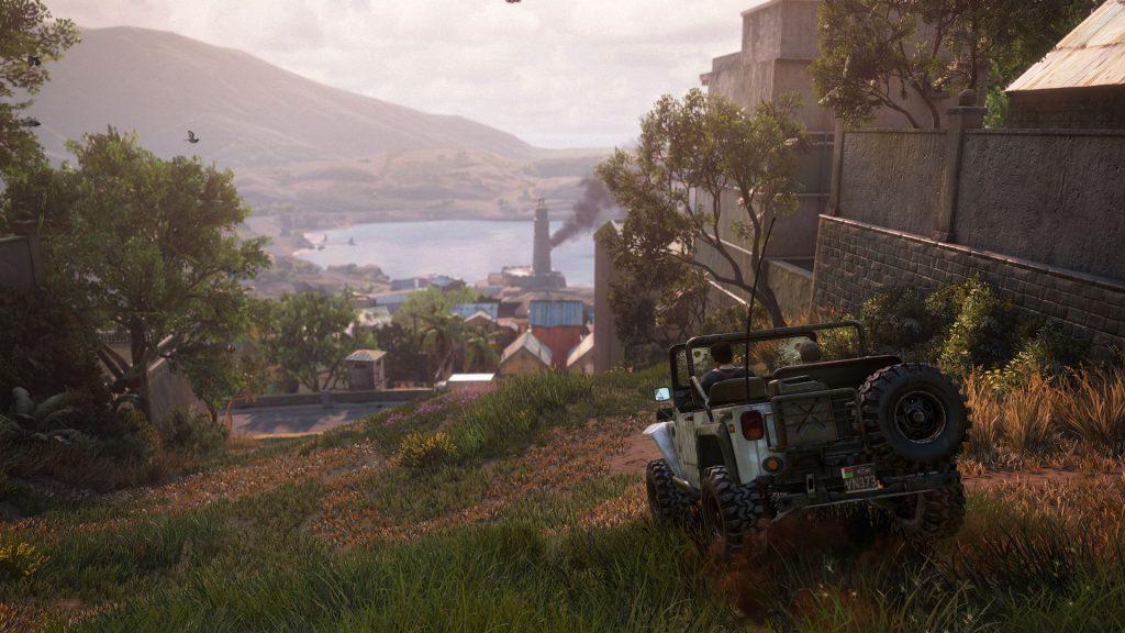 скриншот из игры uncharted 4