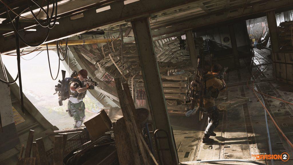 скриншот из Tom Clancy's The Division 2