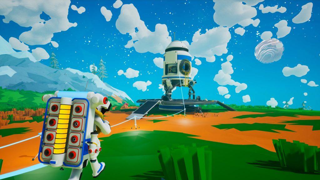 скриншот из игры ASTRONEER