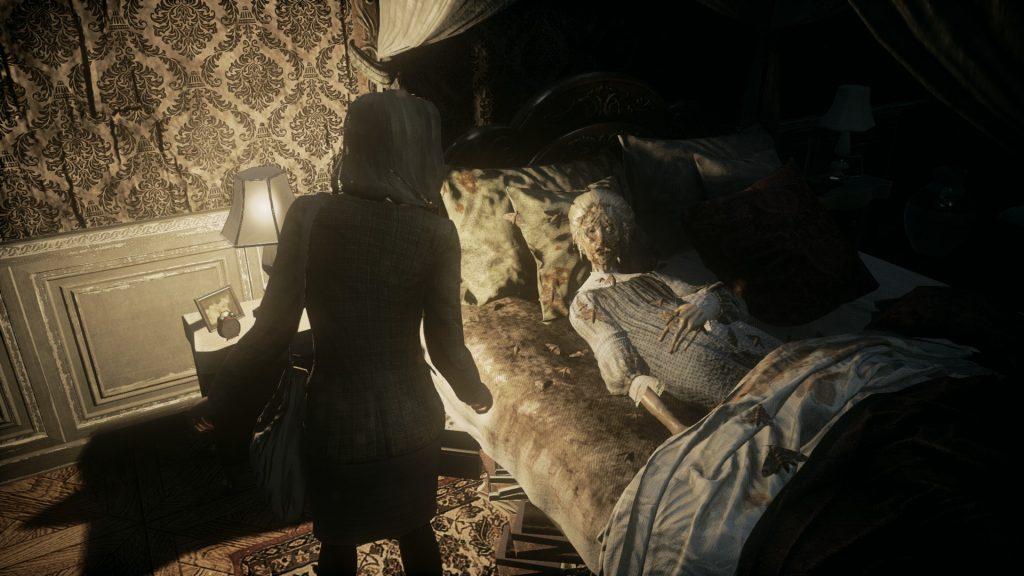 скриншот из игры Remothered: Tormented Fathers