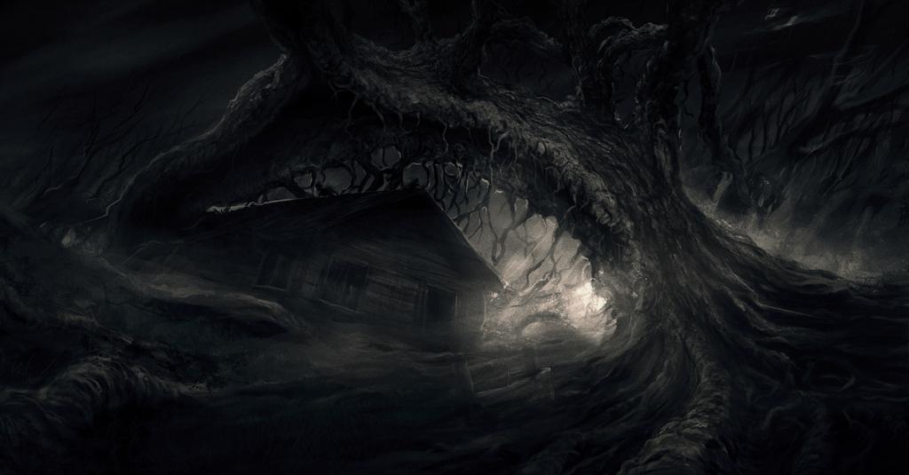 скриншот из darkwood