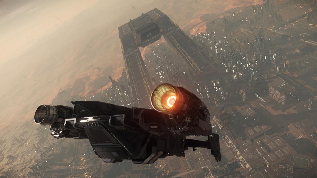 скриншот из star citizen