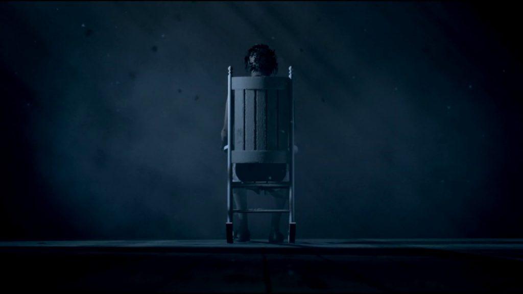Скриншот из игры visage