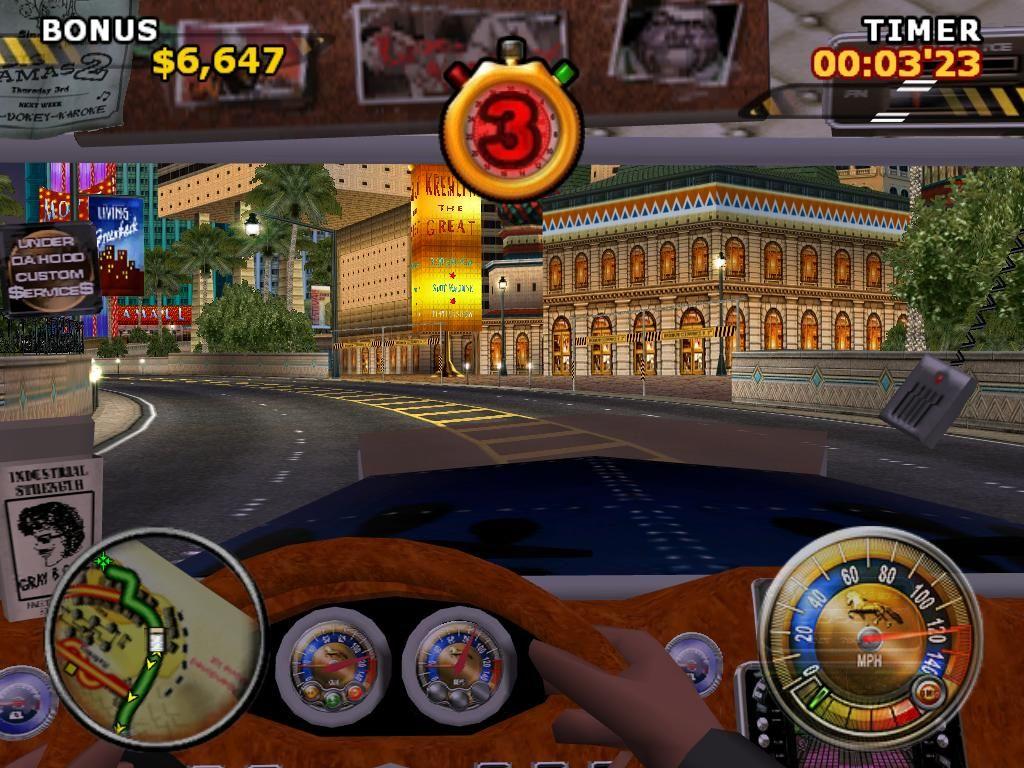скриншот из игры Big Mutha Truckers 2
