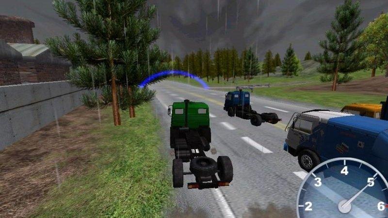 скриншот из игры Камаз: Российское ралли