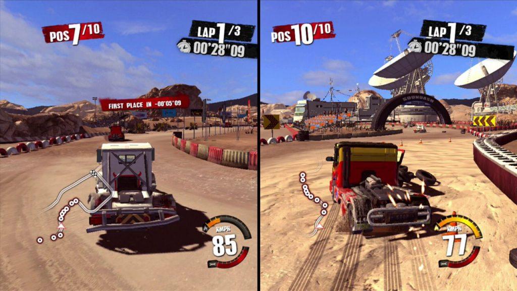 скриншот из игры Truck Racer