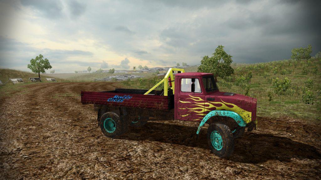 скриншот из игры ZiL Truck Rally Cross