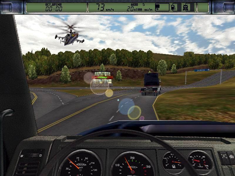 скриншот из игры дальнобойщики 2