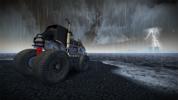 скриншот из игры fuel