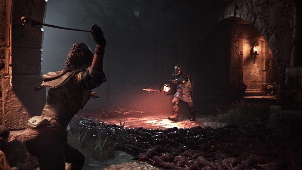 скриншот из plague tale