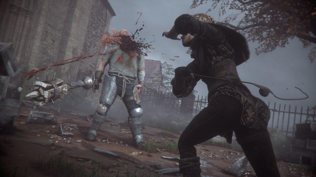 скриншот из игры a plague tale