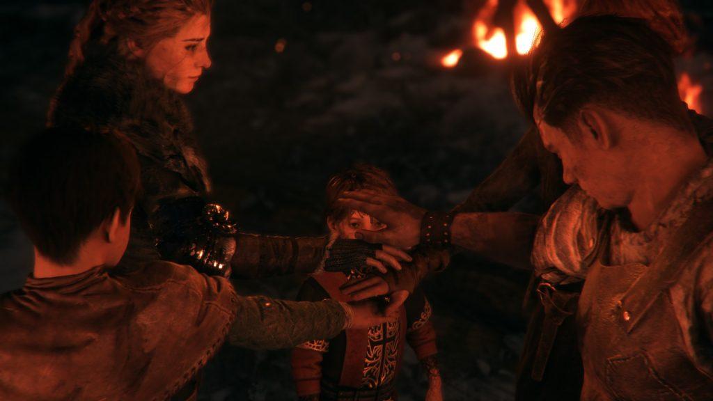 скриншот из игры plague tale
