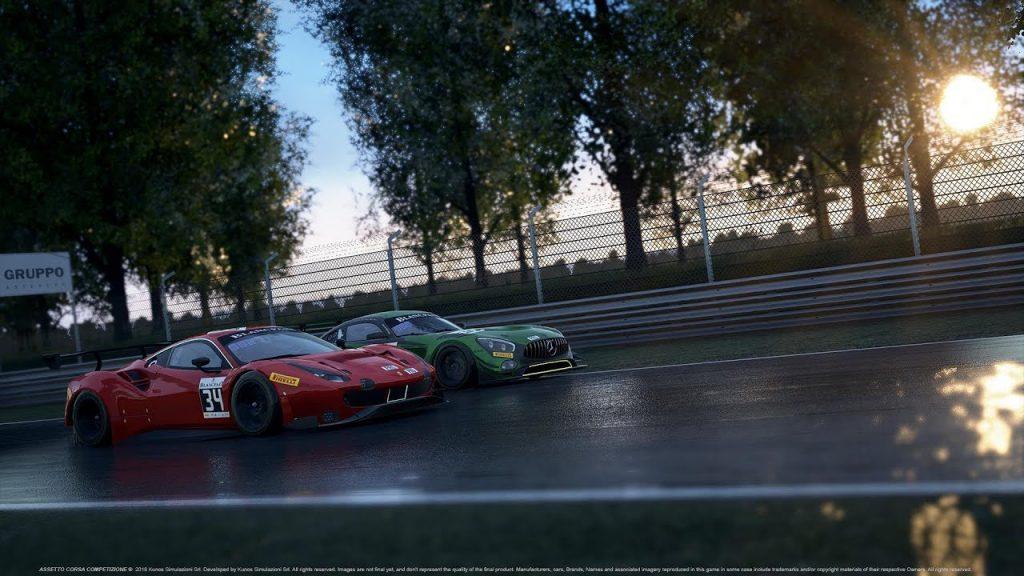скриншот из игры Assetto Corsa Competizione
