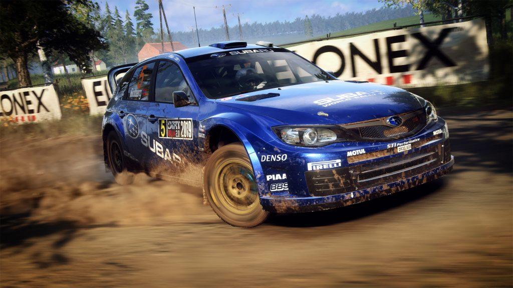 скриншот из игры DiRT Rally 2.0