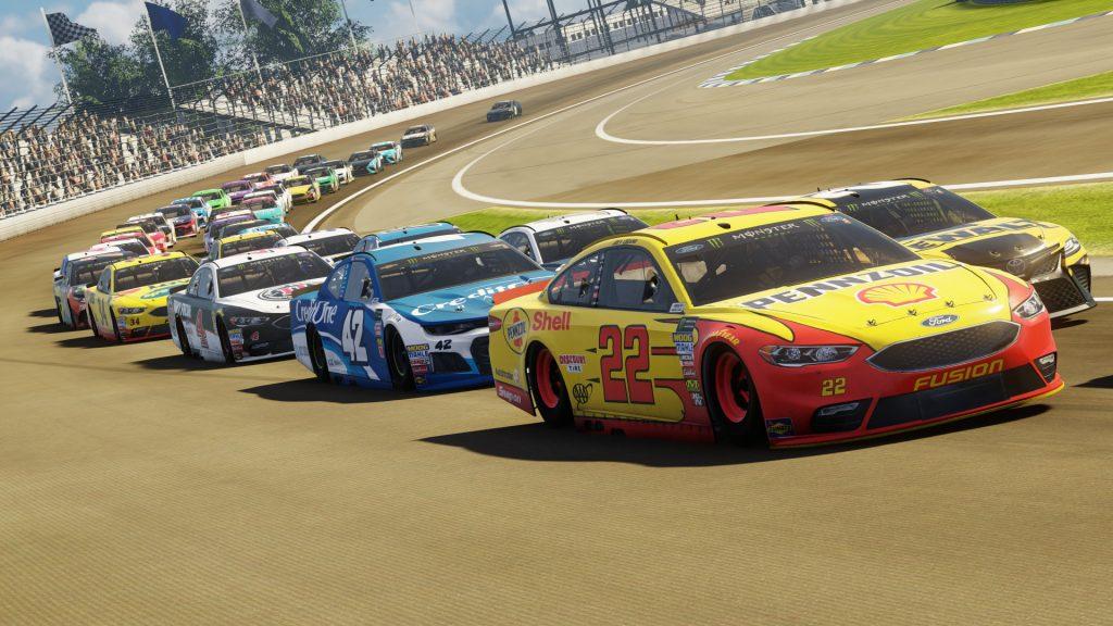 скриншот из игры NASCAR Heat 3