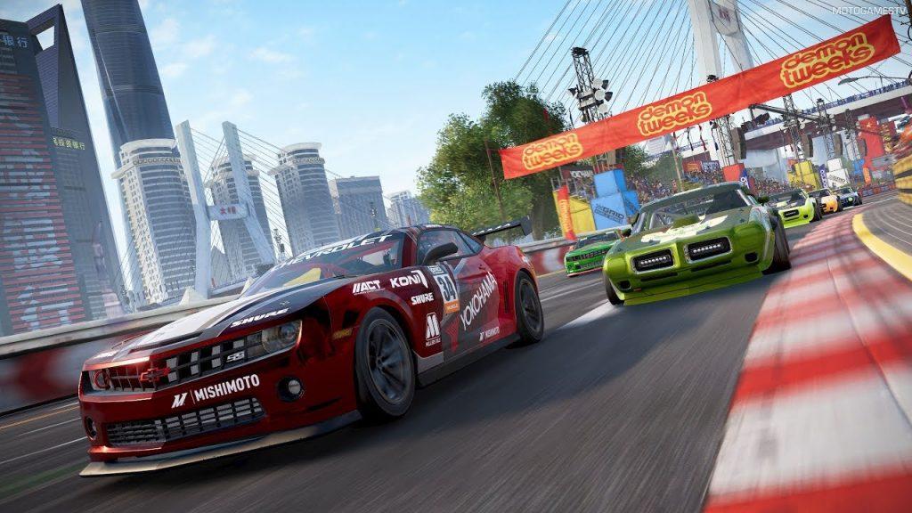 скриншот из игры grid