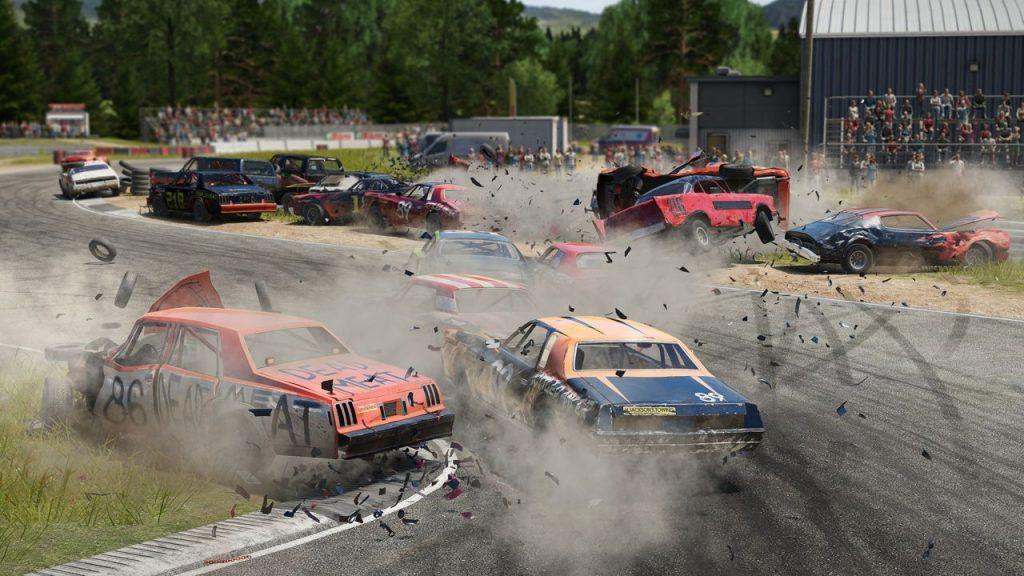 скриншот из игры Wreckfest