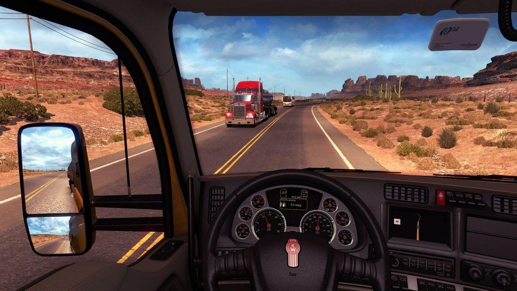скриншот из игры American Truck Simulator