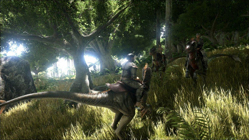 скриншот игры Ark Survival Evolted