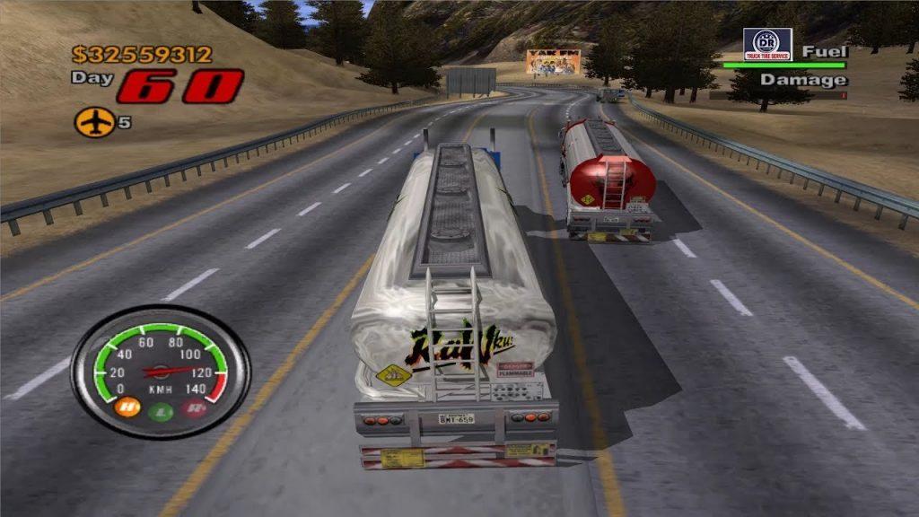 Big Mutha Truckers скриншот