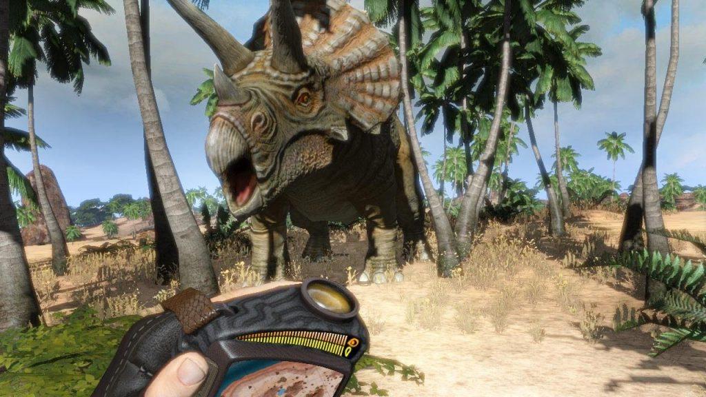 скриншот из игры Carnivores Dinosaur Hunter Reborn