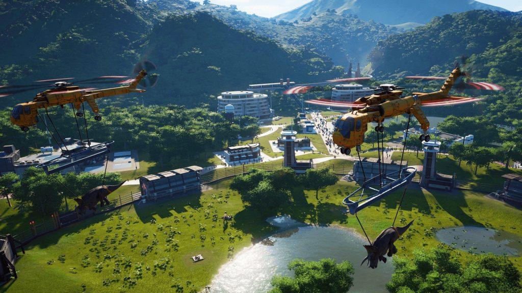скриншот из игры Jurassic World Evolution