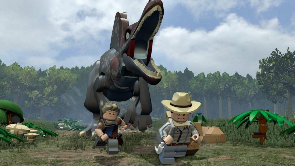 скриншот из игры Lego Jurassic World