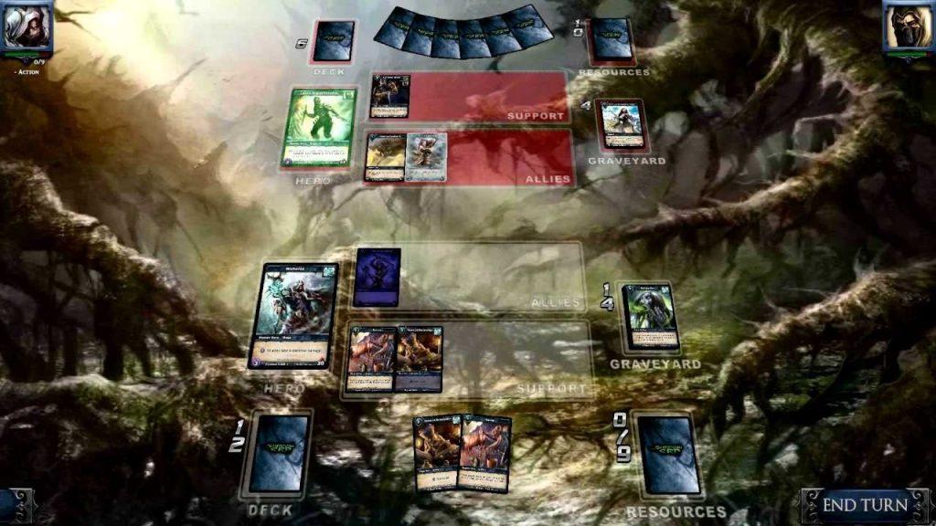 скриншот игры Shadow Era