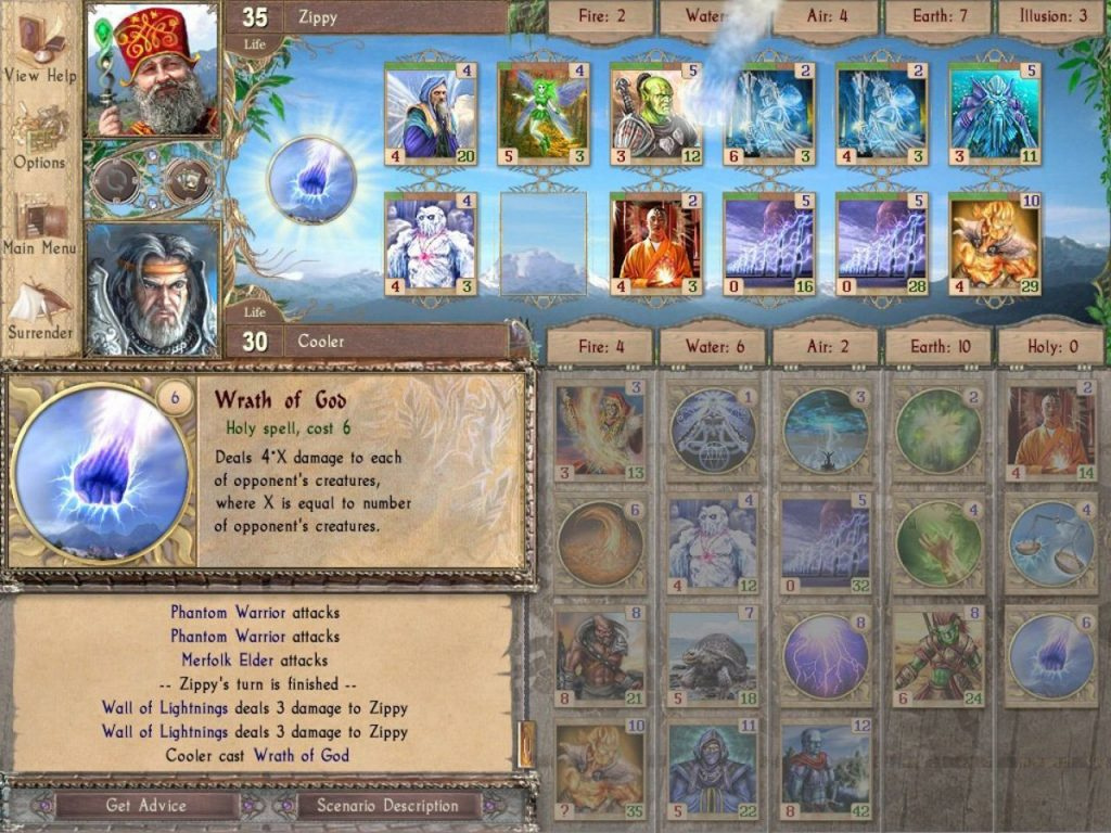 скриншот из игры Spectromancer