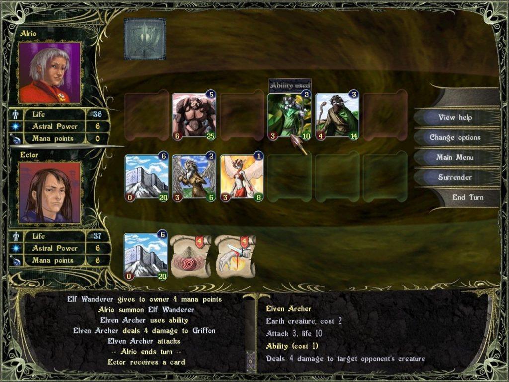 скриншот игры astral masters
