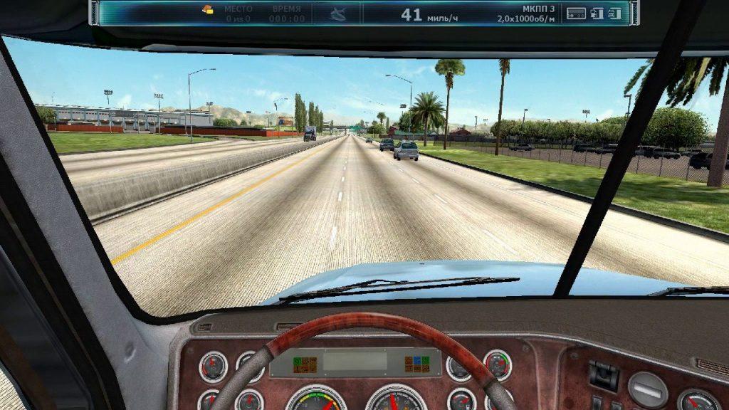 скриншот из игры дальнобойщики 3