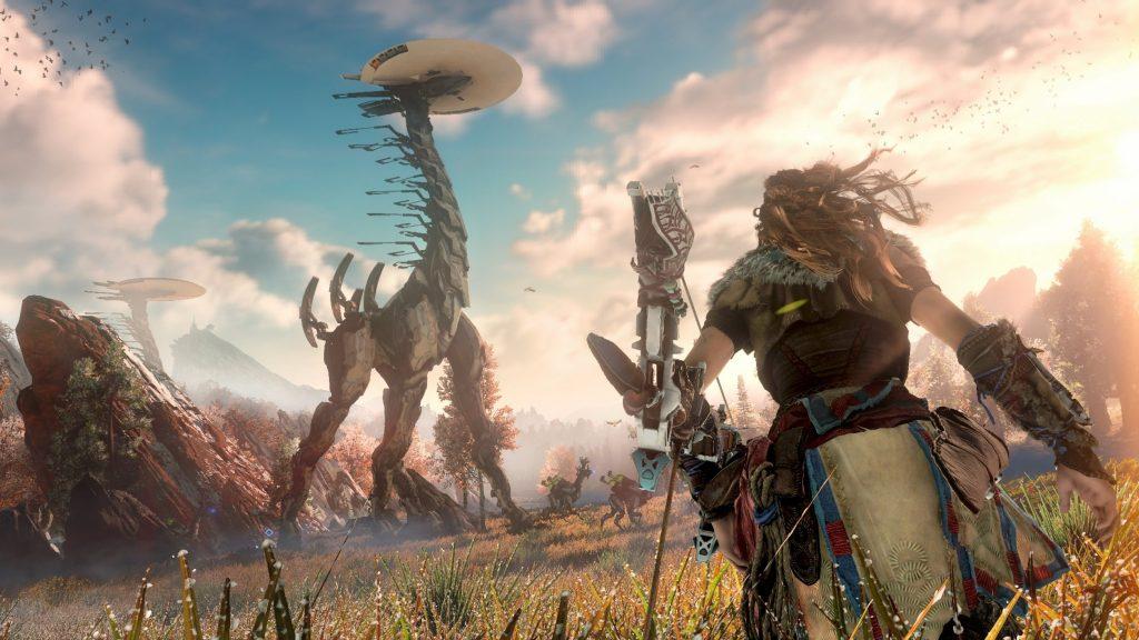 скриншот из игры horizon zero down