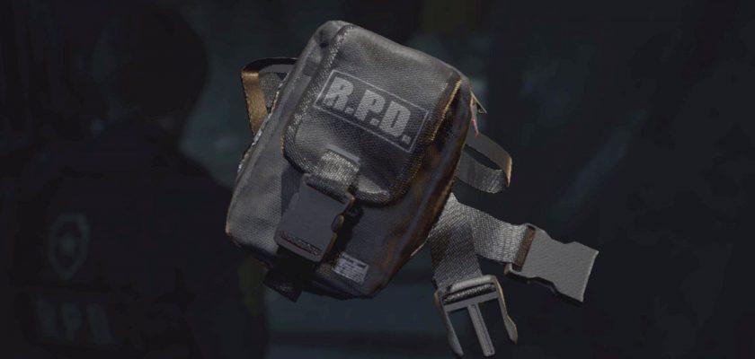 модель сумки resident evil 2 remake
