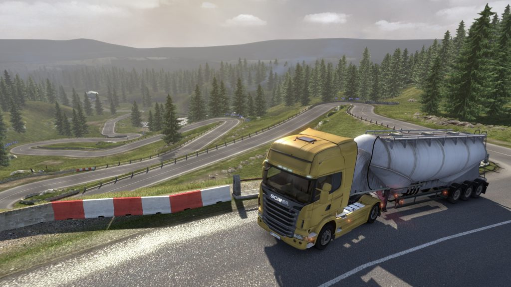Scania Truck Driving Simulator скриншот
