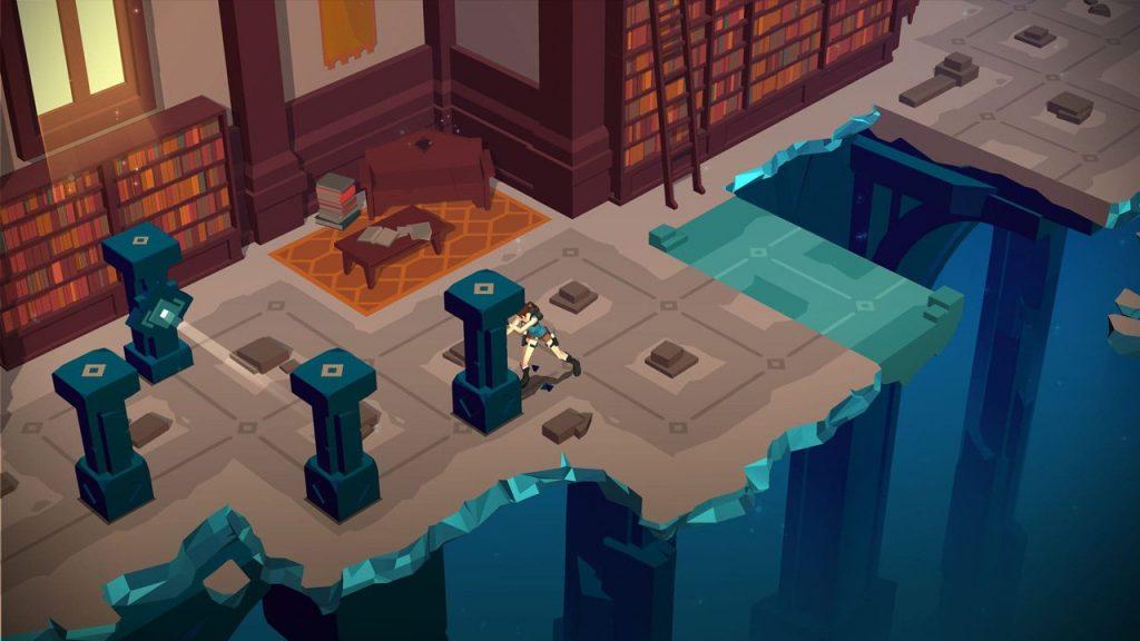 скриншот игры Lara Croft GO