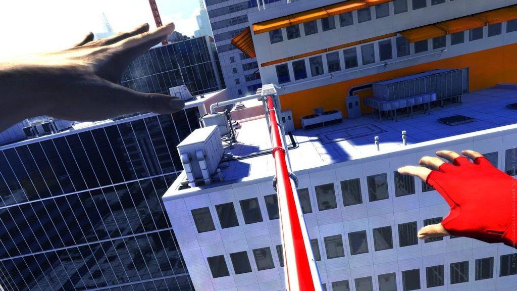 скриншот из игры Mirror's Edge
