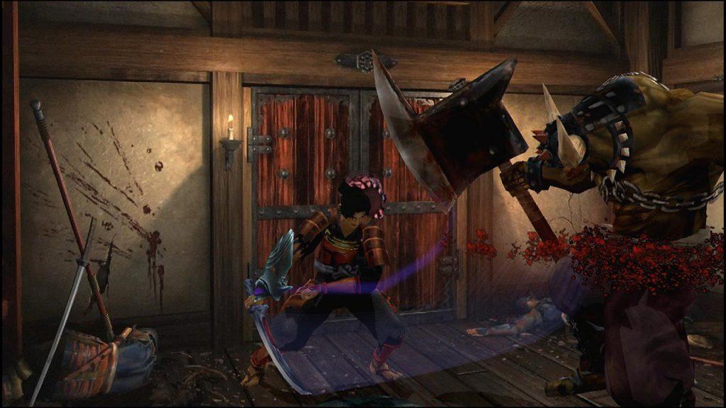 скриншот из игры Onimusha Warlords