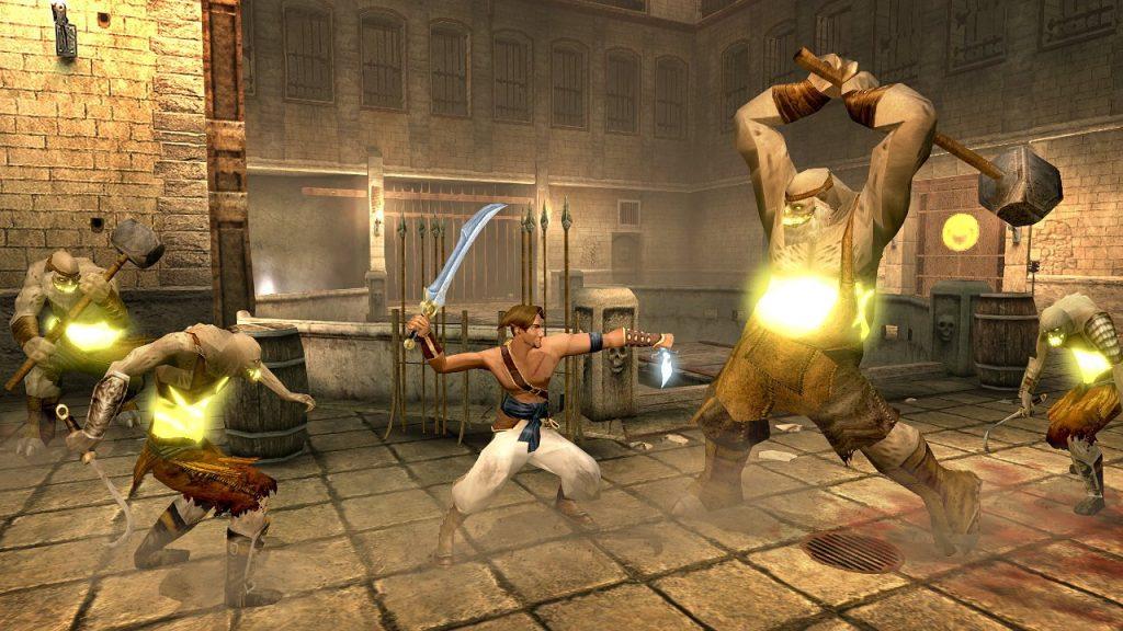 скриншот из игры Prince of Persia