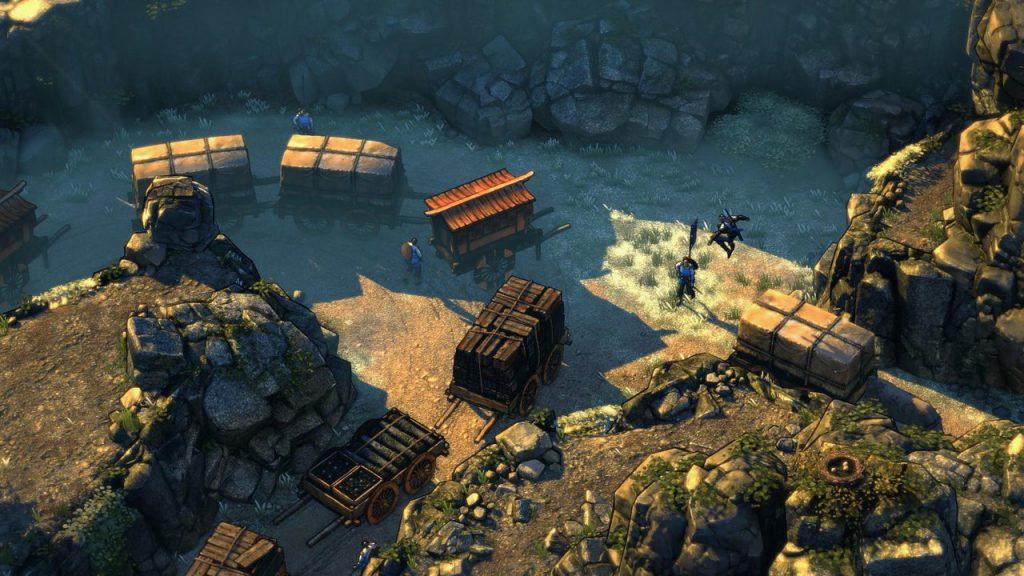 скриншот игры Shadow Tactics Blades of the Shogun