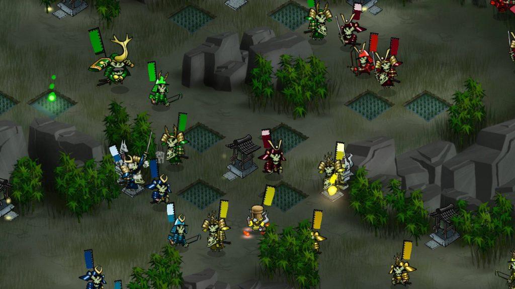 скриншот игры Skulls of the Shogun