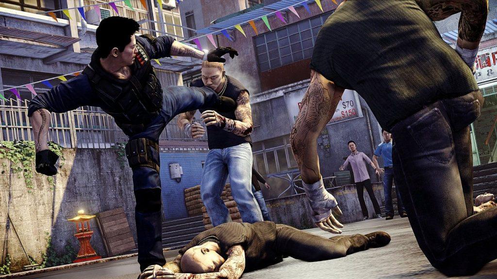 скриншот из игры Sleeping Dogs