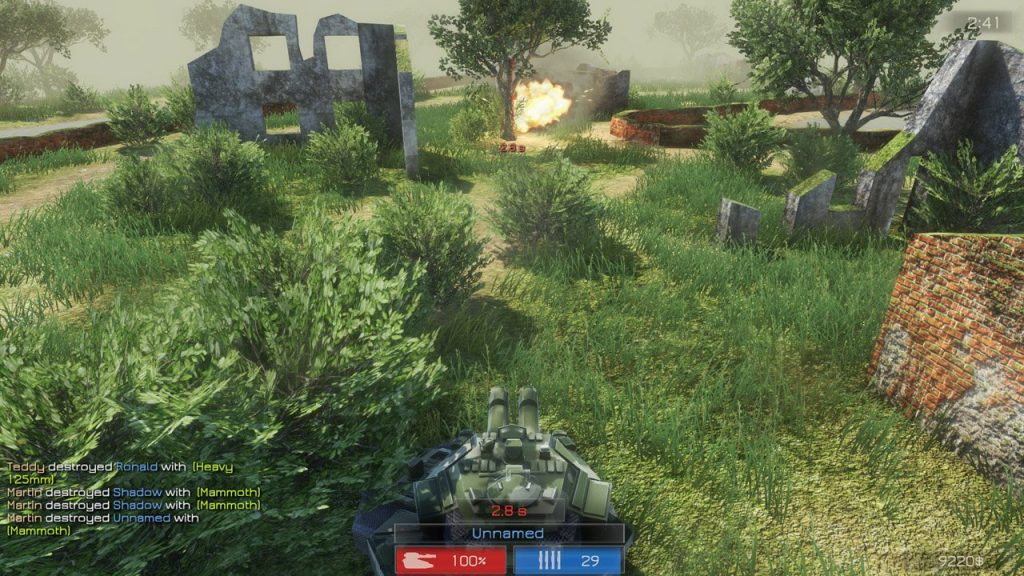 TankZone Battle скриншот игры