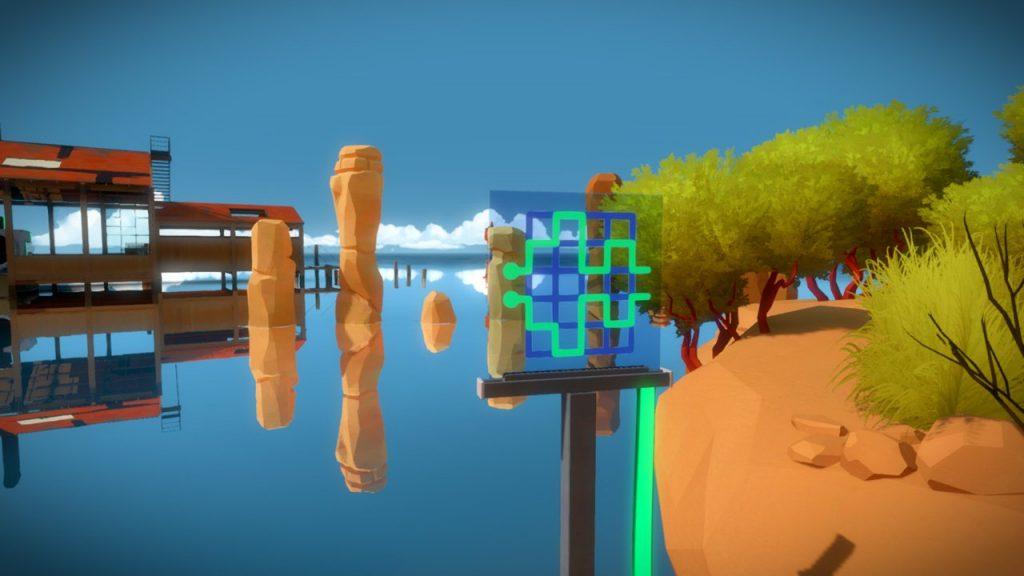 скриншот игры The Witness